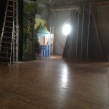 En tom scen, dock lite renare än när vi började denna resa